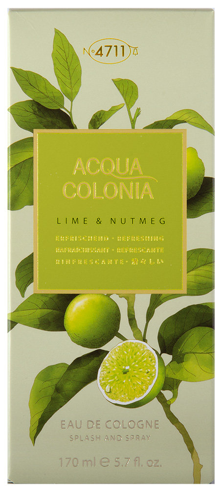4711 Acqua Colonia Lime & Nutmeg Eau de Cologne