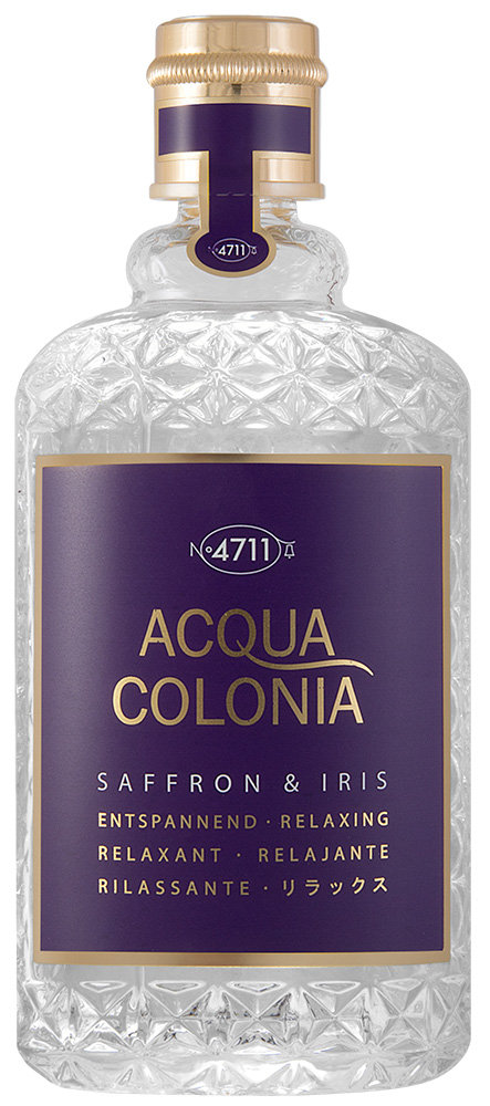 4711 Acqua Colonia Saffron & Iris Eau de Cologne