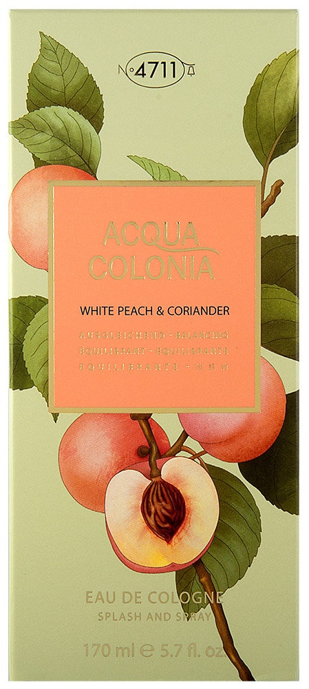 4711 Acqua Colonia White Peach & Coriander Eau de Cologne