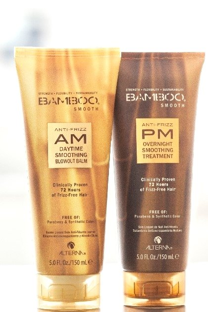 Alterna Bamboo Smooth Anti-Frizz AM/PM Starter Kit