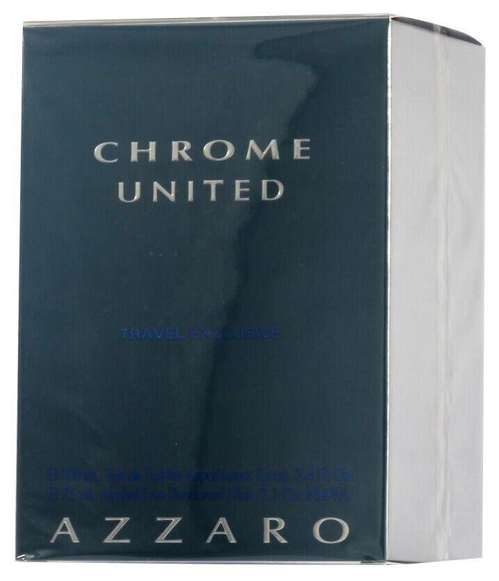Azzaro Chrome United EDT Geschenkset