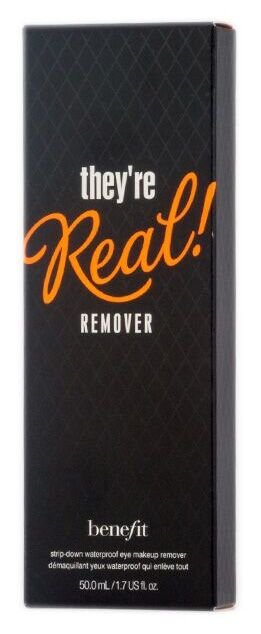Benefit They're real! Remover