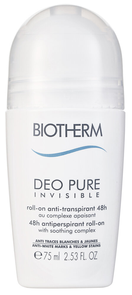 Biotherm Deo Pure Invisible Antiperspirant Deodorant Roll-On
