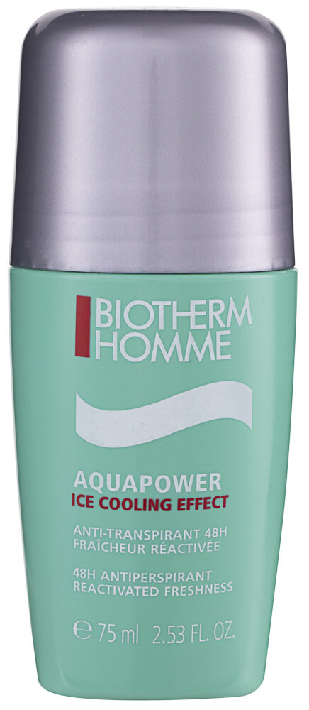 Biotherm Homme Aquapower Ice Cooling Effect Deo-Roller