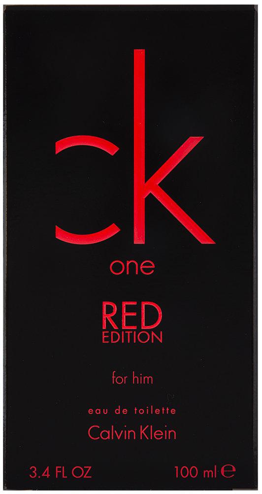 Calvin Klein CK One Red Edition for Him Eau de Toilette