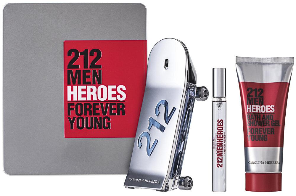 Carolina Herrera 212 Men Heroes EDT Geschenkset