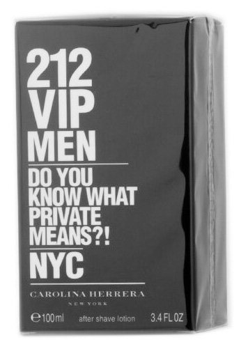 Carolina Herrera 212 VIP Aftershave Lotion