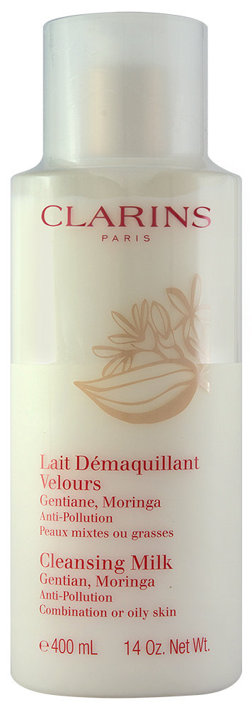 Clarins Anti-pollution Reinigungsmilch With Gentian and Moringa