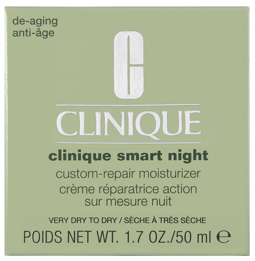 Clinique Smart Custom-Repair Night Care Very Dry To Dry