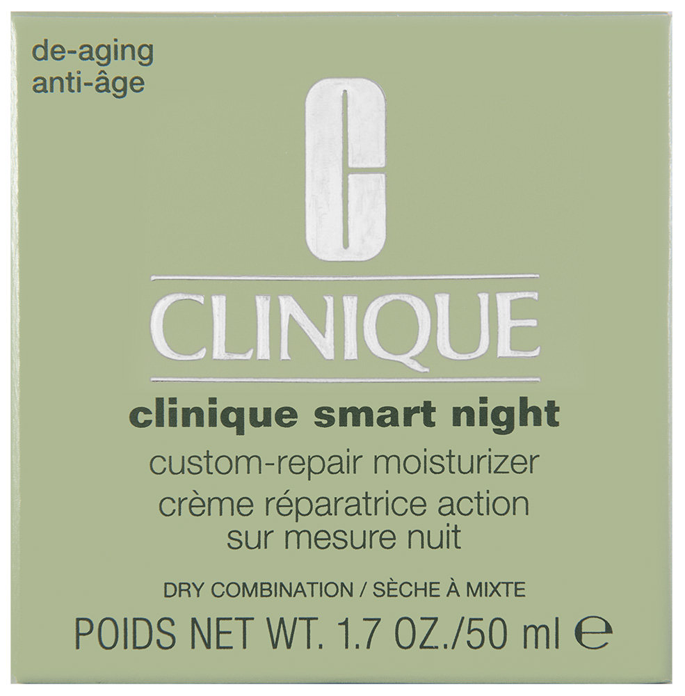 Clinique Smart Night Custom Repair Care Dry to Combination