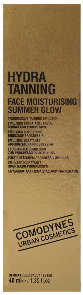 Comodynes Hydra Tanning Face Moisturising Summer Glow
