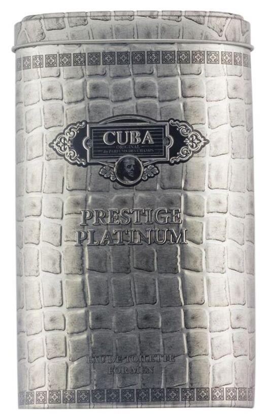 Cuba Paris Cuba Prestige Platinum Eau de Toilette