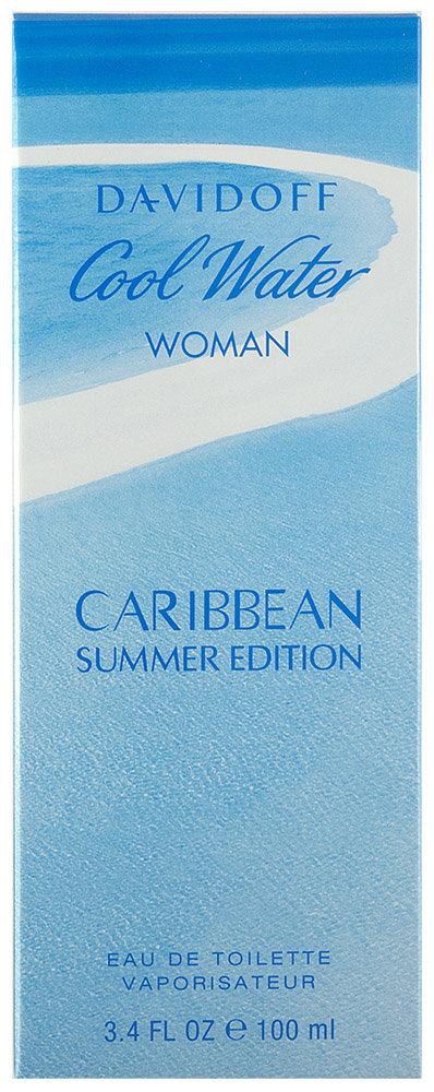 Davidoff Cool Water Woman Caribbean Summer 2018 Eau de Toilette
