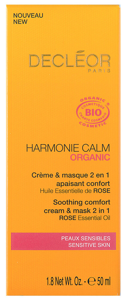 Decléor Harmonie Calm Organic Créme & Gesichtsmaske