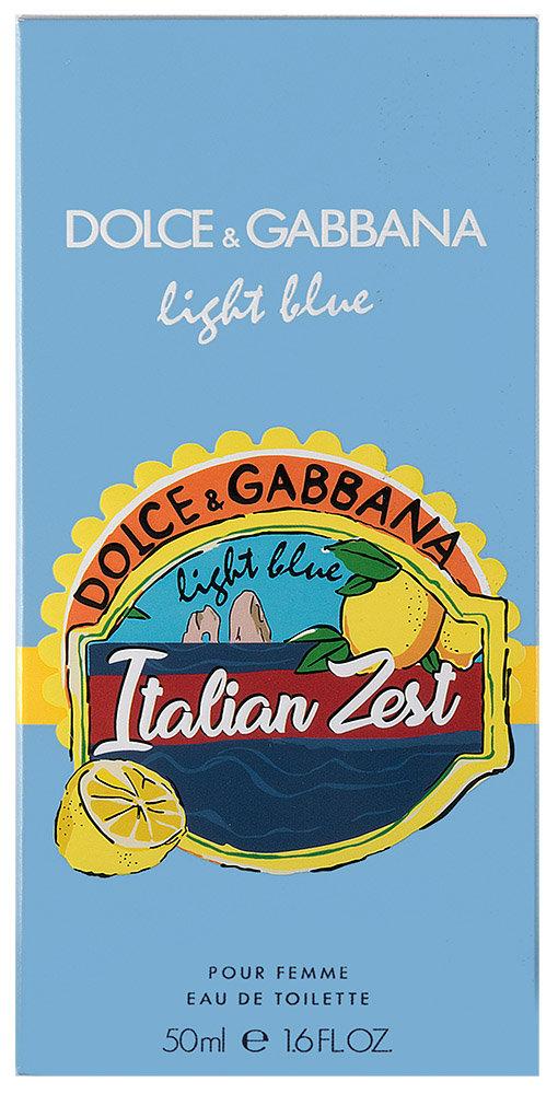 Dolce & Gabbana Light Blue Italian Zest Eau de Toilette