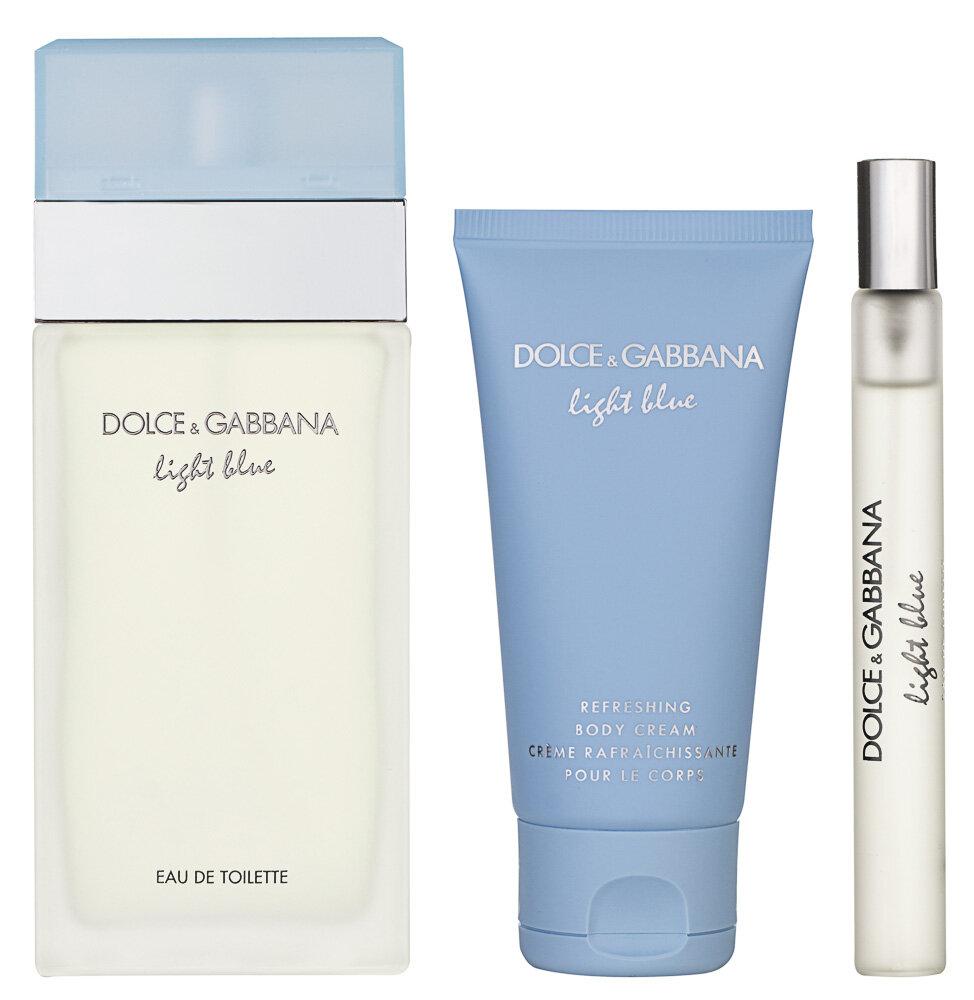 Dolce & Gabbana Light Blue Pour Femme EDT Geschenkset