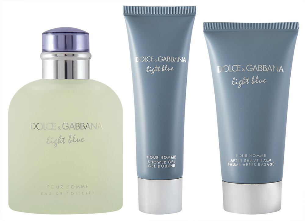 Dolce & Gabbana Light Blue Pour Homme EDT Geschenkset
