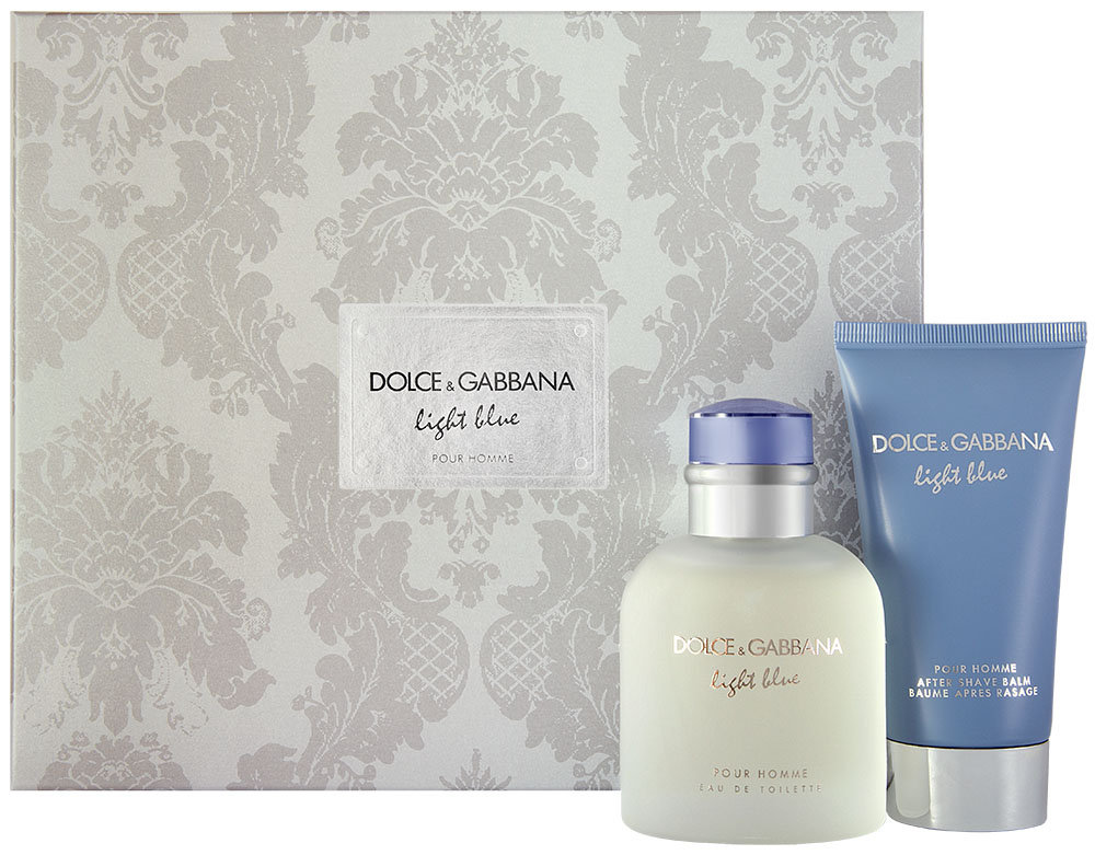Dolce & Gabbana Light Blue Pour Homme Geschenkset