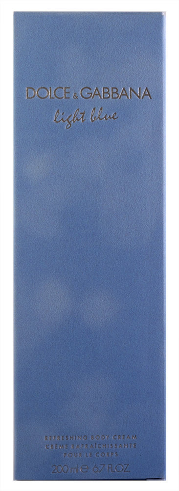 Dolce & Gabbana Light Blue Refreshing Körpercreme