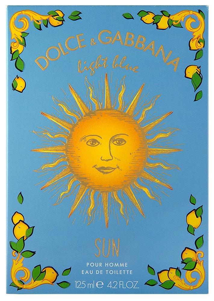 Dolce & Gabbana Light Blue Sun Pour Homme Eau de Toilette