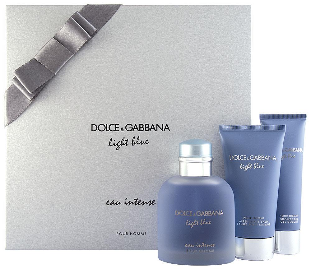 Dolce & Gabbana Pour Homme Light Blue Eau Intense EDP Geschenkset