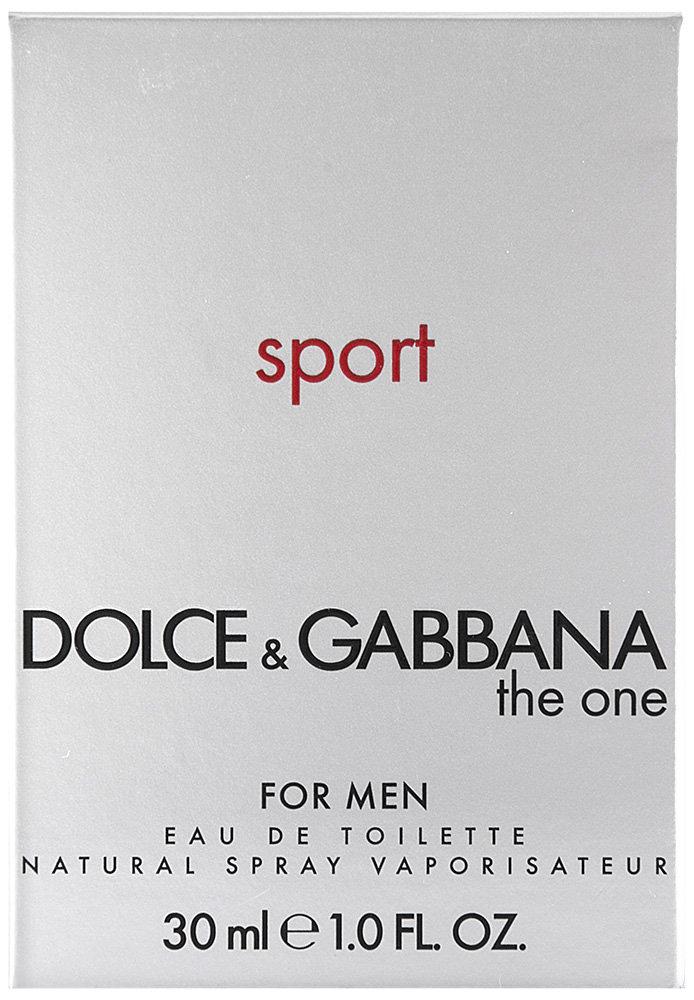 Dolce & Gabbana The One Sport Eau de Toilette