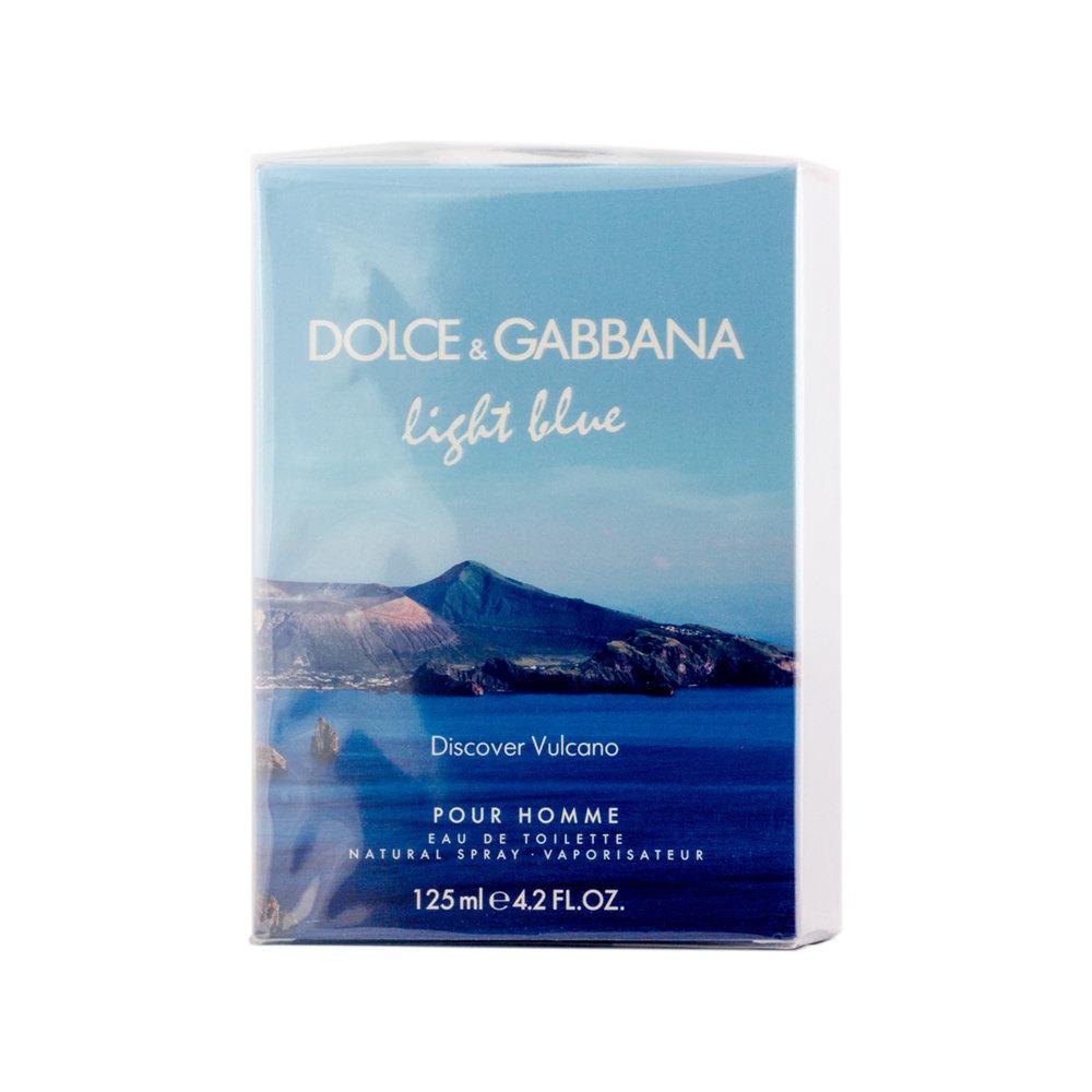 Dolce&Gabbana Light Blue Discover Vulcano Pour Homme Eau de Toilette