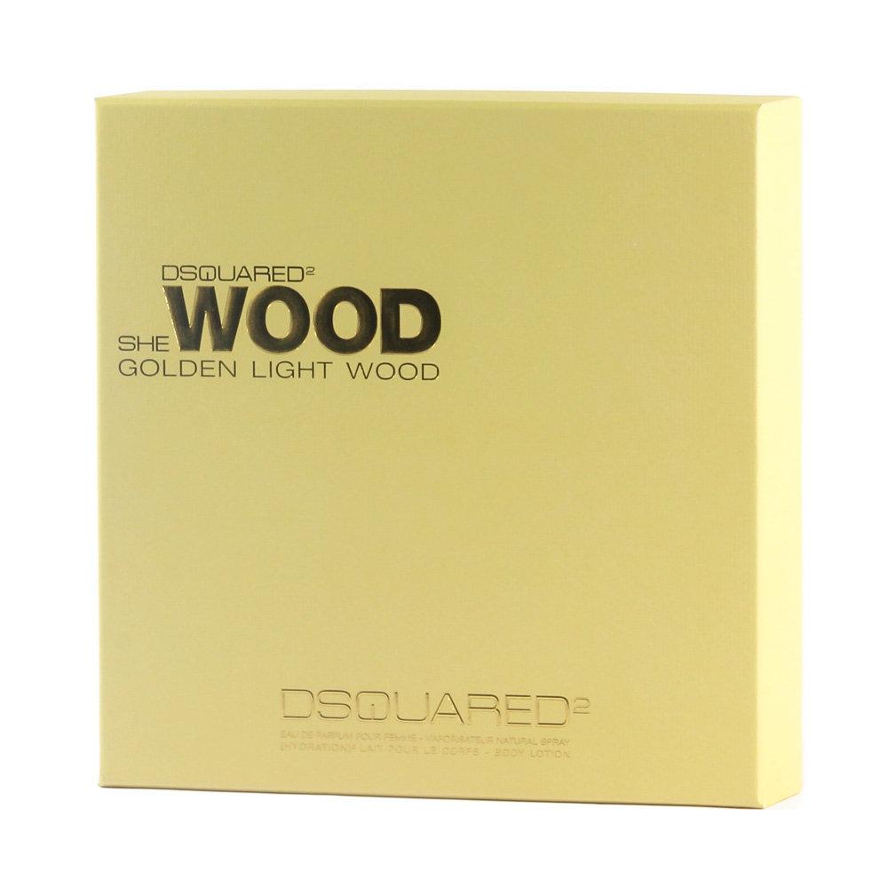DSquared Golden Light Wood Geschenkset