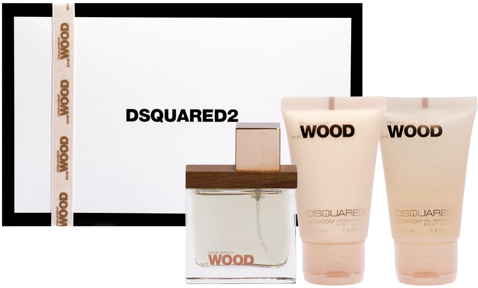 Dsquared She Wood EDP Geschenkset