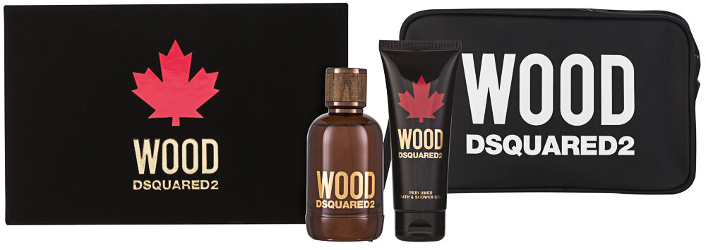 DSquared2 Wood Pour Homme EDT Geschenkset