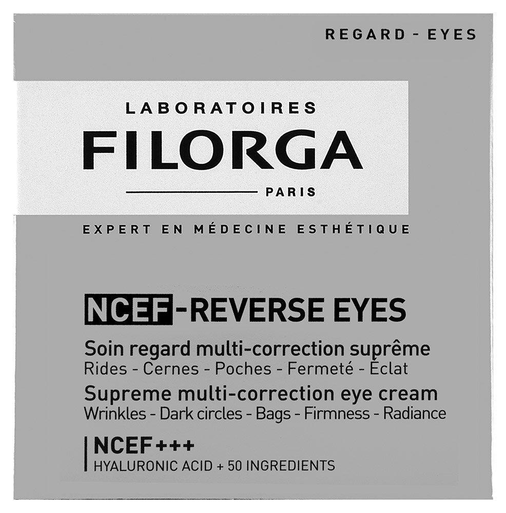 Filorga NCEF Reverse Eyes Supreme multi-correction Augencreme