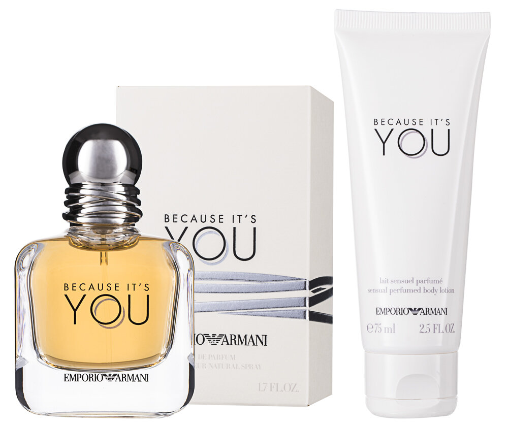 Giorgio Armani Emporio Armani Because It`s You EDP Geschenkset