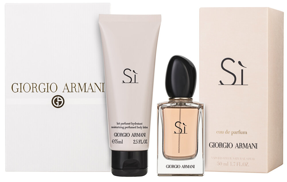 Giorgio Armani Si EDP Geschenkset