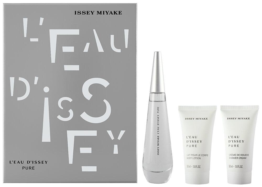 Issey Miyake L`Eau d`Issey Pure EDP Geschenkset