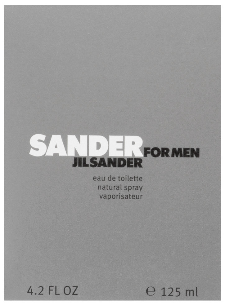 Jil Sander Sander Eau de Toilette