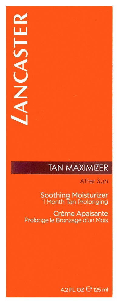 Lancaster Beauty After Sun Tan Maximizer Soothing Moisturizer