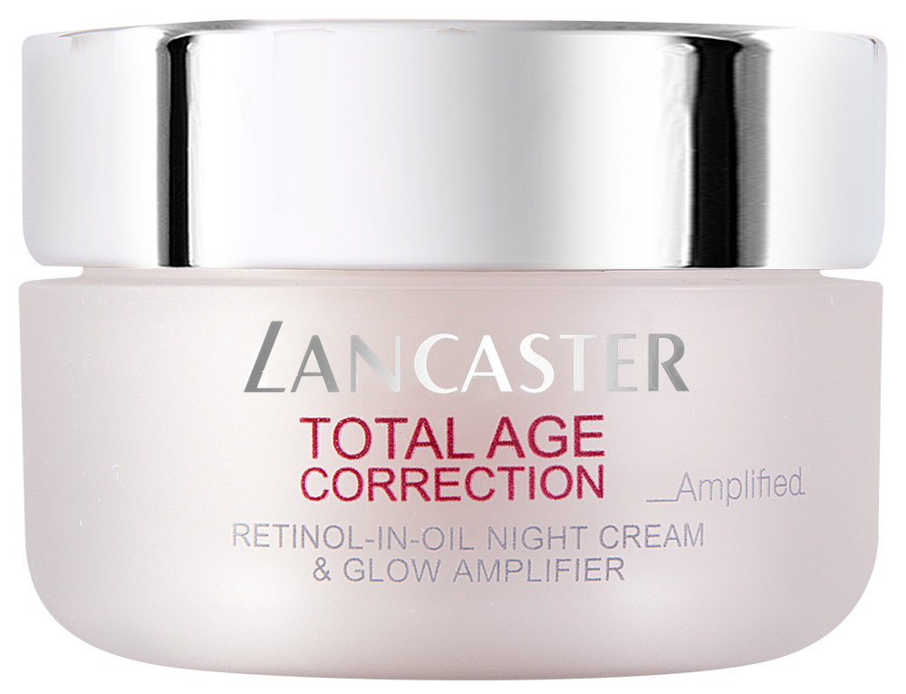 Lancaster Total Age Correction Amplified Retinol-in-Oil Night Cream & Glow Amplifier SPF 15