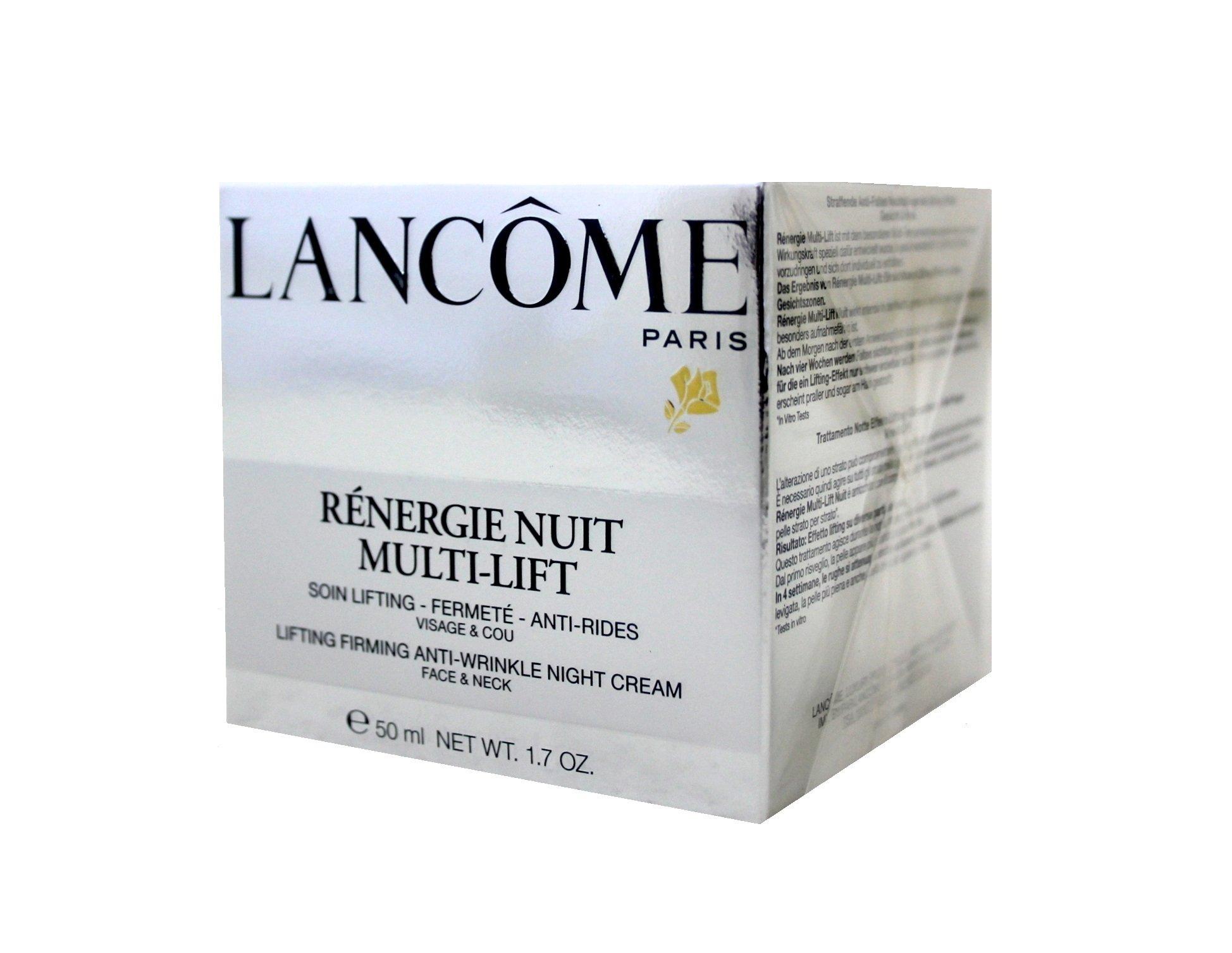 Lancome Rénergie Nuit Multi-Lift Face Cream