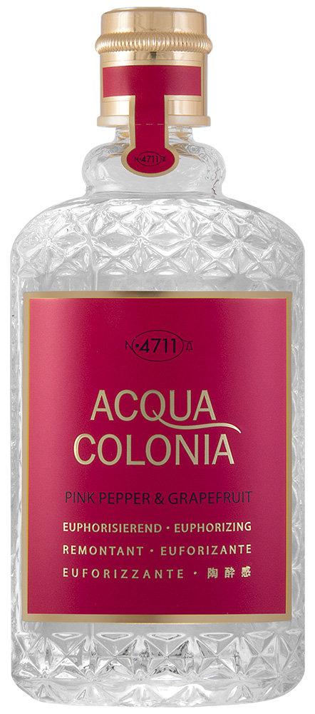 Maurer & Wirtz 4711 Acqua Colonia Pink Pepper & Grapefruit Eau de Cologne