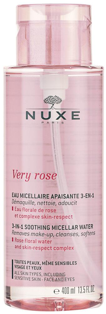 NUXE Very Rose 3 In 1 Soothing Mizellenwasser