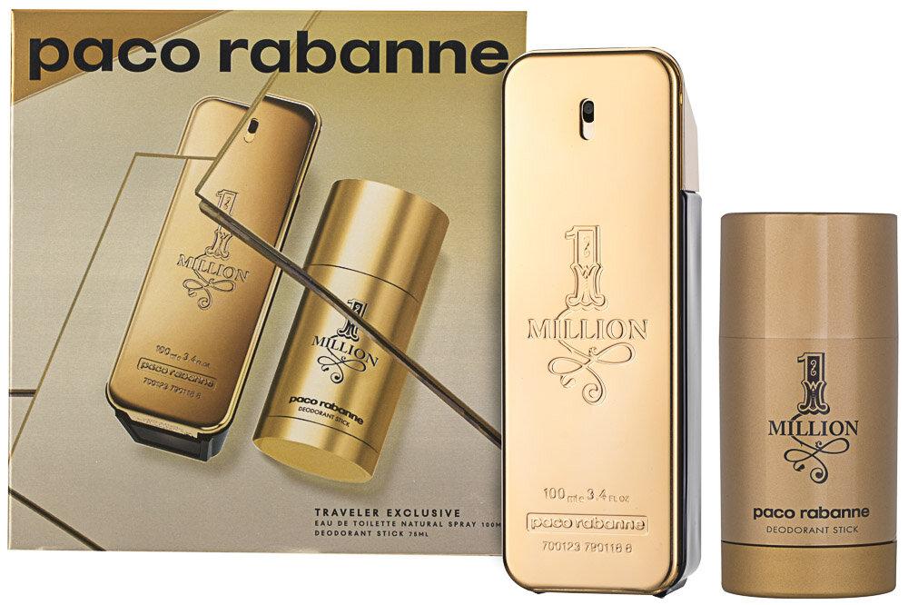 Paco Rabanne 1 Million EDT Geschenkset for Men