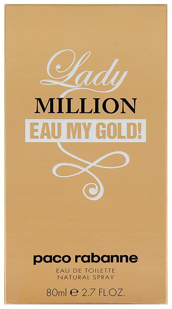 Paco Rabanne Lady Million Eau My Gold! Eau De Toilette