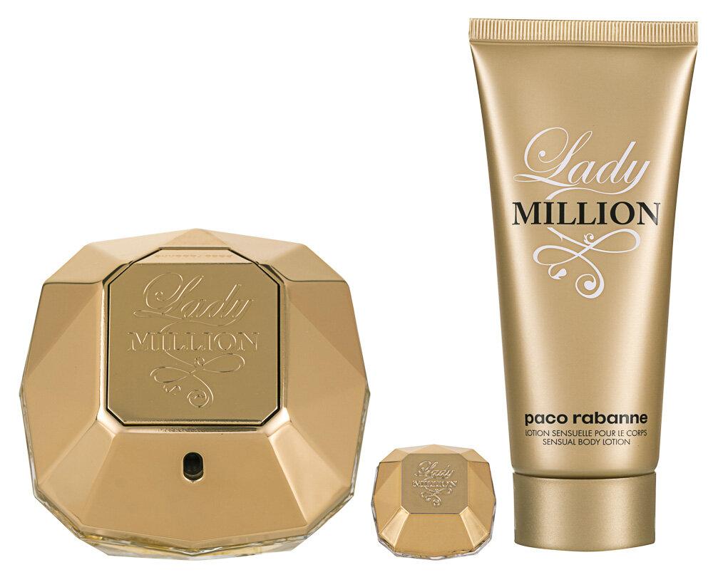 Paco Rabanne Lady Million Geschenkset für Frauen von Paco