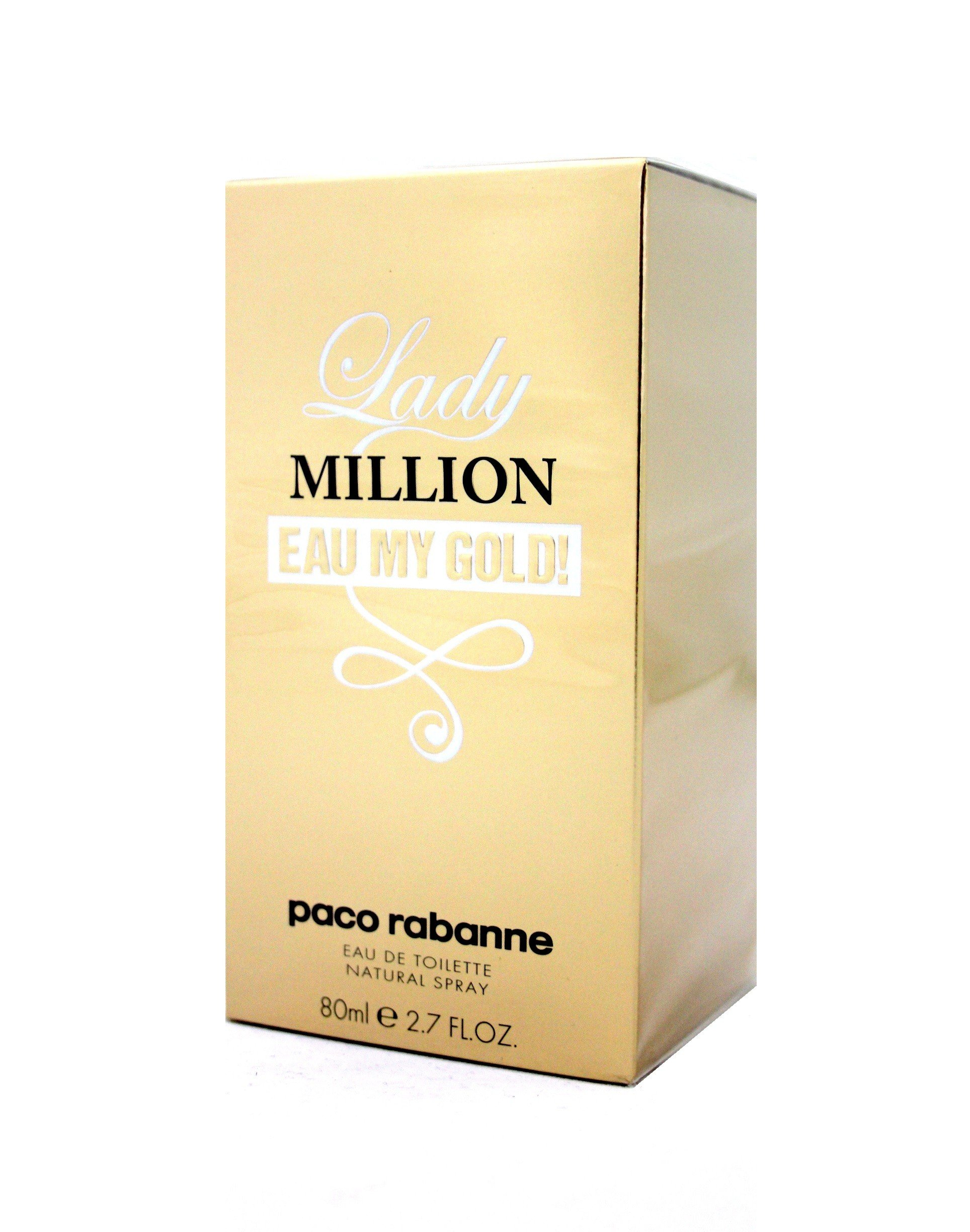 Paco Rabanne Lady Million Eau My Gold! Eau De Toilette