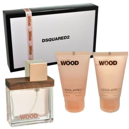 Dsquared She Wood Gift Set