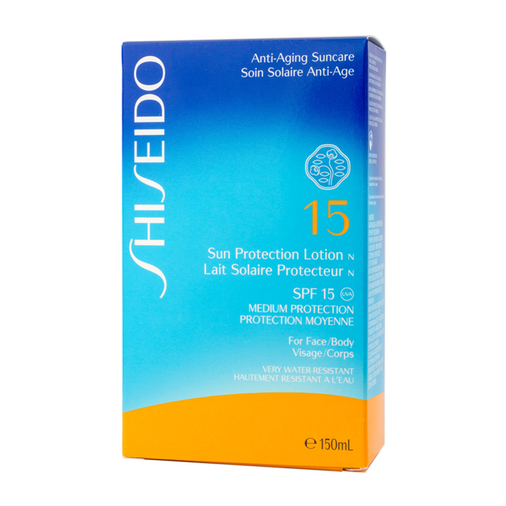 Shiseido Sun Protection Lotion SPF 15