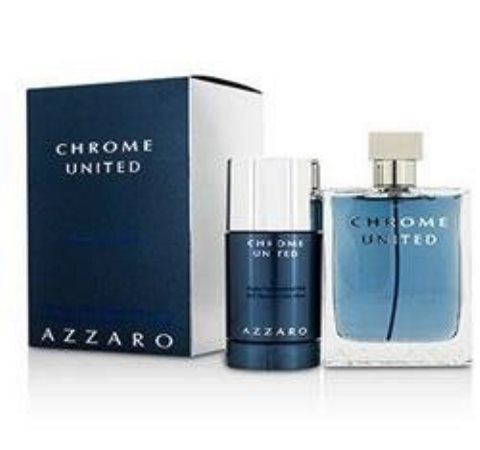 Azzaro Chrome United Gift Set