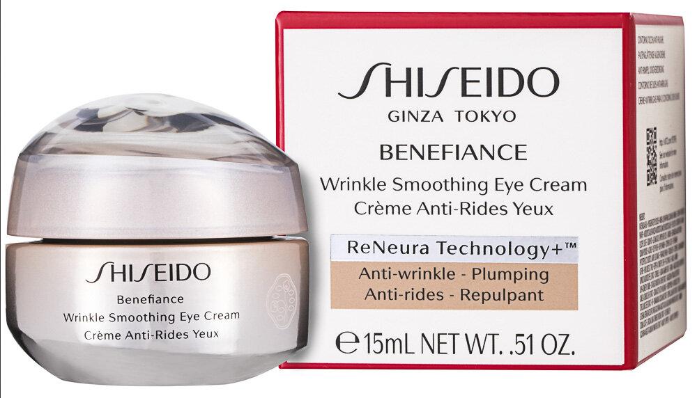 Shiseido Benefiance Wrinkle Smoothing Augencreme