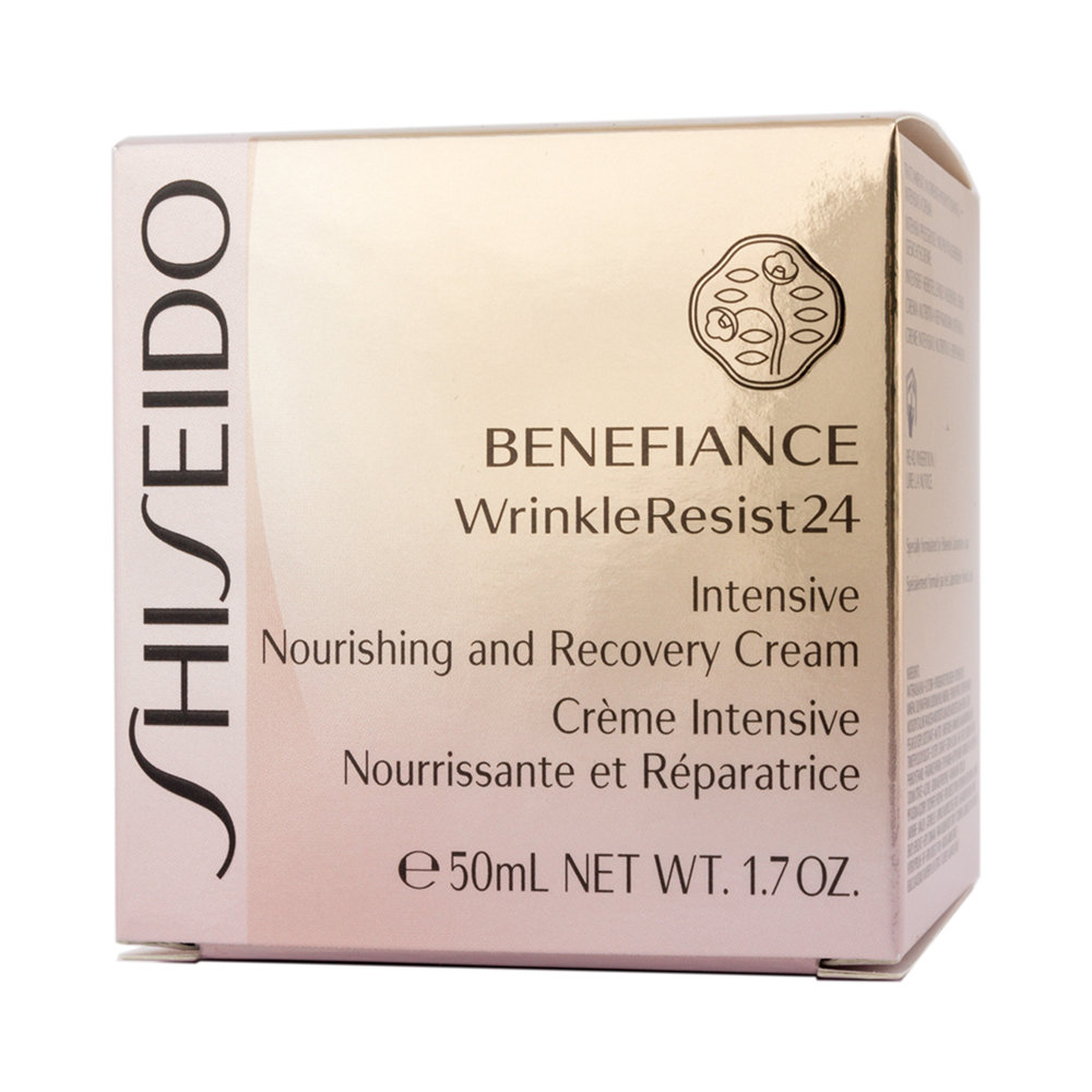 shiseido benefiance nourishing and recovery gesichtscreme. Black Bedroom Furniture Sets. Home Design Ideas