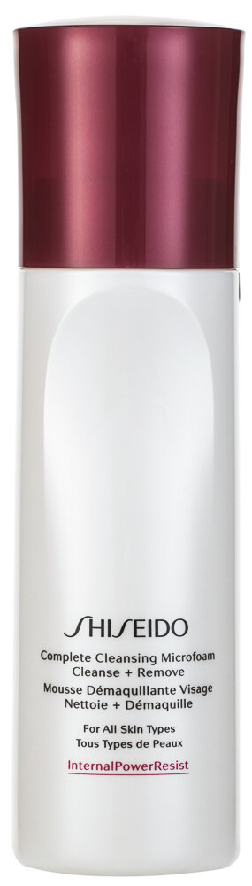 Shiseido Complete Cleansing Microfoam Cleanse Remove